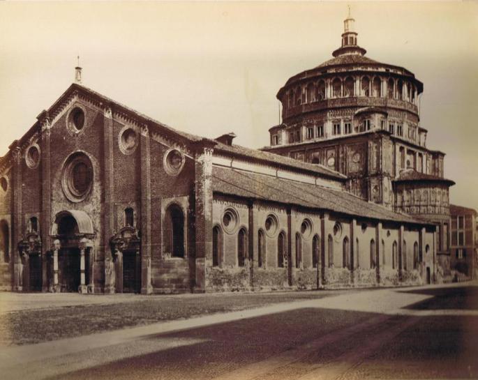 Alinari_-_S._Maria_delle_Grazie,_Milano_1880s