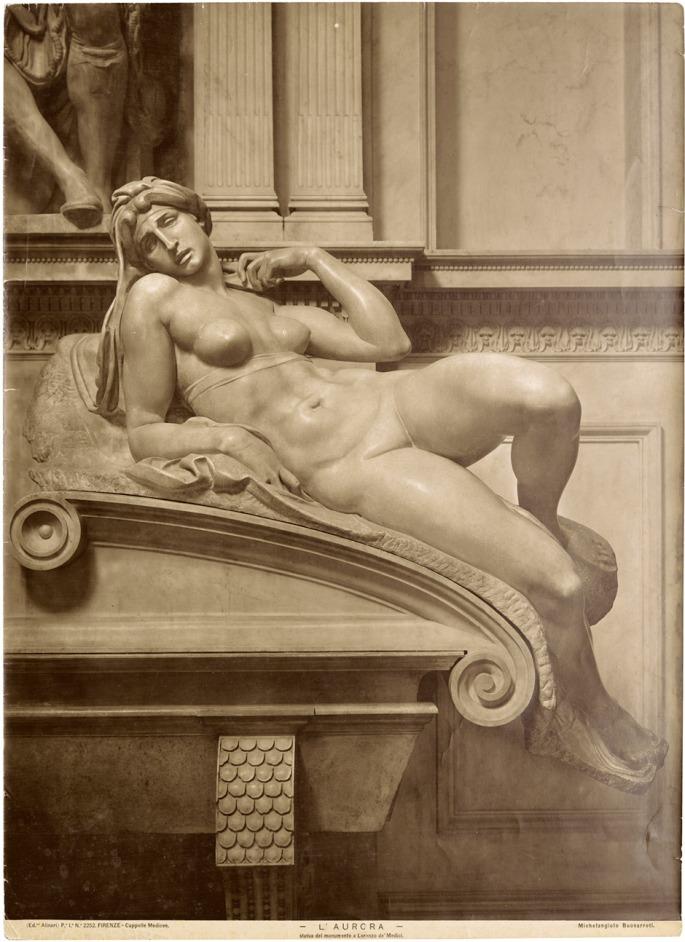 Alinari_Medici_tomb_Aurora