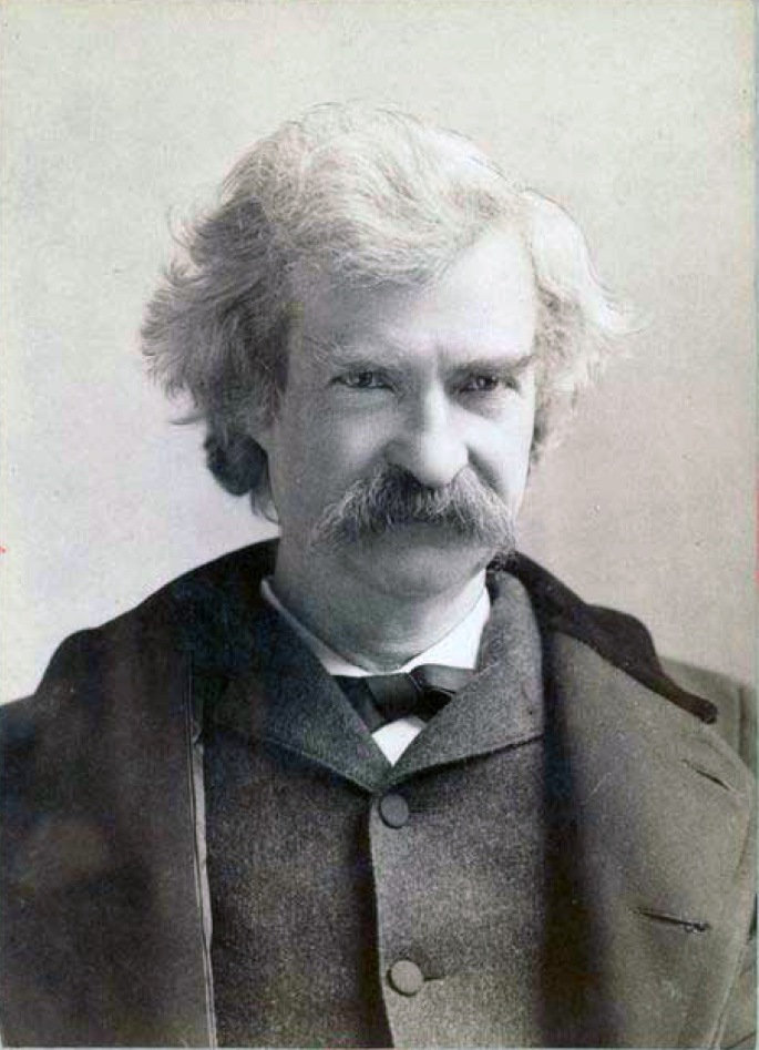 Mark Twain in Middle Life - ID: 100708 - NYPL Digital Gallery