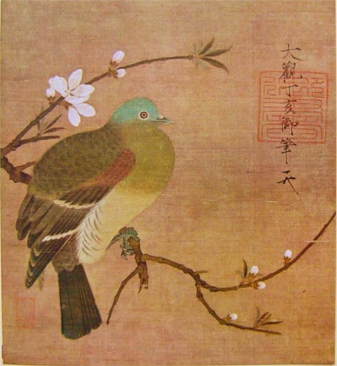 pigeon-on-a-peach-branch-1108.jpg!HalfHD