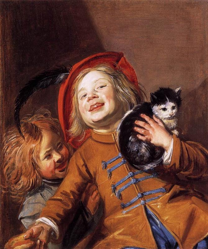 laughing-children-with-a-cat-1629.jpg!HalfHD