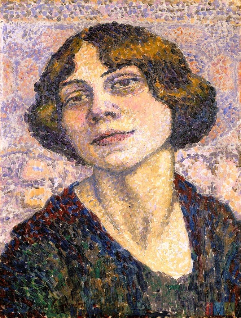 Self_portrait_(1905-10)_-_Lucie_Cousturier