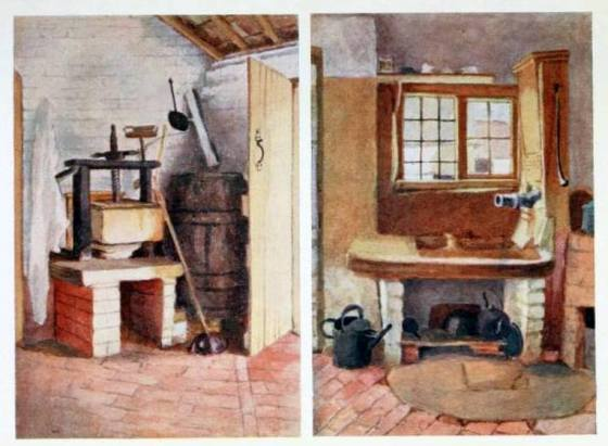 The Kitchen Pump and Old Cheese Press, Rolleston, s.d.