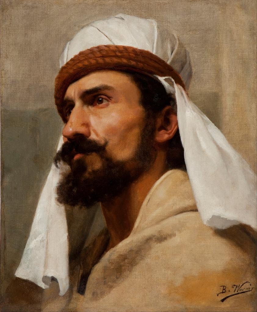 Retrato de Beduíno