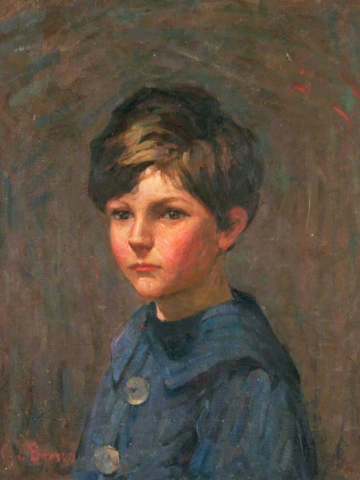 Thomas South Mack as a Small Boy