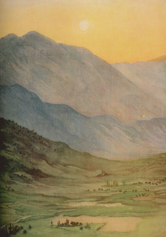 The_foothills_of_Pentelikon,_Marathon_-_Willoughby_Vera_-_1925